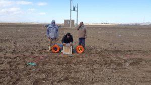اکتشاف منابع آب زیرزمینی(آب یابی) جهت تغییر محل چاه آب