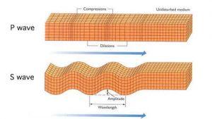 امواج تراکمی و امواج برشی